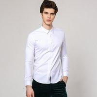 Alta Qualidade Men Primavera Royal Prince formais Magro Smoking camisas masculinas clássicas Casual Top manga comprida camisas roupa masculina 72636