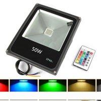 LED RGB freddo caldo LED bianco proiettore pannocchia 10W 20W 30W 50W LED luce di inondazione esterna
