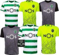 새로운 20 21 스포츠 CP Lissabon 축구 유니폼 Phellype 2020 2021 Fernandes Dost Vietto Coates Acuna Jovane 축구 셔츠