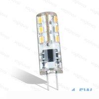 LED Bulbs G4 24LED DC12V White Corn Bulb 360 Silicone Body Lamps Crystal For Crystal Chandelier Pendant Lamps Spotlight Bulbs DHL