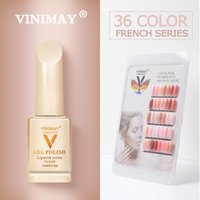 Nail VINIMAY francese gel Nail Art polacco UV si impregna fuori dal polacco del gel Gelpolish colori Primer Manicure Nails Lacque Salon 15ml