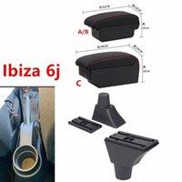 Ibiza'nın 6j'nin Kolçak Kutusu Merkez Mağaza İçeriği Saklama Kutusu Kol Dayama USB Arayüzü SnDb # için