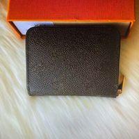 N63069 N63070 M60067 M60740 Zippy монет кошелек мода мода кожаные женские короткие кошельки карманные компактные монеты монеты держатель монеты мешочек