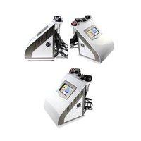 5 en 1 cavitation sous vide RF amincissant la machine avec tripolaire RF Four Polar RF SIXPolar Radio Fréquence Liposuccion ultrasonique