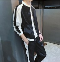 Autumn Casual Clothes Mens Designer Tracksuits Street Sports...