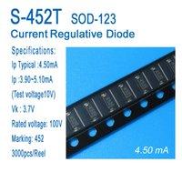 Постоянный ток диод, ток регулятивного диода, CRD, S-452T, SOD-123, СМД, типичный 4.50ma, примененные к светодиодному освещению, светодиодные лампы