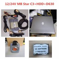 İyi Kalite MB YILDIZ C3 Tanı Aracı ile Yazılım HDD MB C3 Pro Tanı Çoklayıcı ile D630 Teşhis Laptop Tam Kiti otomobil 4ynI #