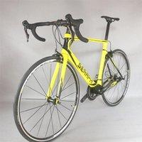 Bikes Aero Carbon Road Полный велосипед Алюминиевый Колесо с 22 Скорость Shiman0 105-R7000 Группированная Пользовательская краска FM268