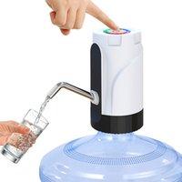 Pompa butelki wodnej Elektryczny dozownik wody Przenośne Galon Picia Switch Switch Automatyczne pompy wody pitnej Ładowanie USB