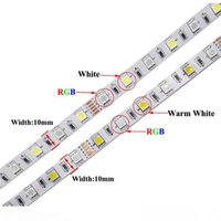 5m 5050 60leds m SMD RGBW LED-Streifen Licht RGBW LED-Beleuchtung Flexible Banddiode Band DC 12V Schönster Hause Lampe führte