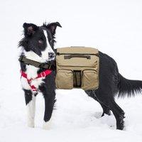 السفر المشي لمسافات طويلة الكلب السرج حقيبة خفيفة القطن حقيبة الظهر كلب المنتج المشي لمسافات طويلة حقيبة للمتوسط كبيرة ح التخييم