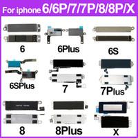10pcs / lot Vibrator für iPhone 6 6S 6Plus 6SPlus 7 7Plus 8 Plus 8Plus X Motor Vibrator Flexkabel Handy Ersatzteile
