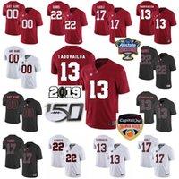 Alabama carmesim maré faculdade jerseys jerseys jalen dói derrick Henry Jerry Jeudy Tua Tuavailoa Jaylen Waddle Jersey costurado por costume