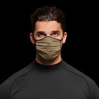 Камуфляжная маска для лица мода дышащие пылезащитные моющиеся многоразовые маски для мужчин и женщин Велоспорт 6 цветов
