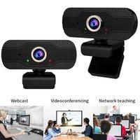 HD 1080P Веб-камера Веб-камера X5 Встроенный двойной Mics Смарт микрофон Запись видео для портативных ПК с Live USB Drive Free