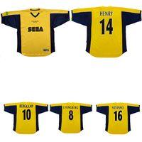 1999 2000 2001 Away Henry Bergkamp Vieira Retro Soccer Jersey Sylvinho Ljungberg Pires Classic Vintage Camicia da calcio