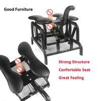 Sexe récent Rocking Chair Structure en métal peut charger 200 kg 15-20cm télescopique Distance Sex Machine Sex Chaise Meubles Couple