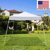 Tende all'aperto di alta qualità Bbq Beach Shade Tents Tende da festa 3 x 3m USO PORTATIVA PORTAFIATURA PORTAFIATURA TENDA BIANCA TENDA USA