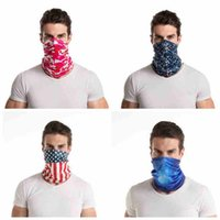 14 stijlen Mode Bandana Camo Gezichtsmasker Outdoor Sports Hoofdband Turban Headscarf Magic Sjaals Fietsen Gezichtsmaskers Cyz2550