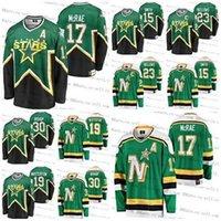 Minnesota North Stars personalizzati Parete del patrimonio vintage basilico McCrae Ben Bishop Bill Masterton Bobby Smith 23 Brian Brows Hockey cuciti