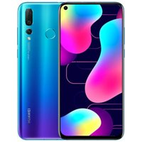 "Original Huawei Nova 4 4G LTE Mobiltelefon 8 GB RAM 128 GB ROM KIRIN 970 Octa Core Android 6.4 ""Vollbild 48MP AI Face ID Fingerprint Smart Mobiltelefon"