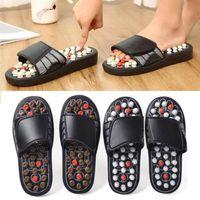 Pantofole Piede Acupoint Attivazione di massaggio Anti-slip Acripressure Terapia Shoes Care Shoe Relaxation