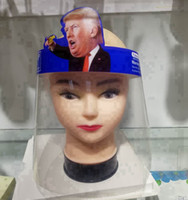 Adulto Trump seguridad para Visor transparente para toda la cara cubierta protectora de la herramienta anti-niebla careta Trump Máscaras de diseño RRA3339