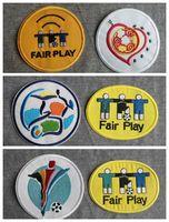 Souvenirs New Retro Europäische 1996 200 2004 Euro Patch Fußball Print Patches Abzeichen, Fußball Heißpräge Patch-Abzeichen