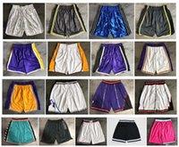 Neue Top-Qualität! 2020 team basketball shorts männer shorts sport shorts college hosen weiß blau rot lila gelb schwarz grün