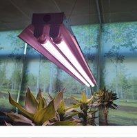 4ft T8 HO LED Işıklar 72W Tam Spektrum Entegre Sera Hidroponik Kapalı Bitki Fide Veg ve Çiçek için Lamba Fikstür Büyüyen büyütün