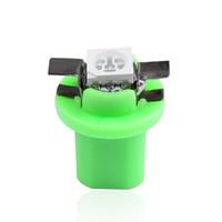 50pcs B8.5D 509T B8.5 5050 Medidor LED SMD T5 1SMD lámpara del coche del tablero de instrumentos del panel Cluster Dash bulbo de instrumentos del salpicadero luz reemplazo bulbos del Lote