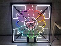 النيون علامة ضوء البيرة بار الحانة حقيقي زجاج أنبوب شعار الإعلان عرض علامات 50CM