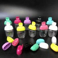 30ml PET Ambalaj Şişeler Çocuklar El Temizleyici Boş Şişe Seyahat Esansiyel Yağı Makyaj Konteynerleri Doldurulabilir şişeler SADECE CCA12317 600pcs