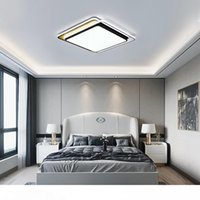 أضواء ساحة بساطتها الحديثة بقيادة سقف Lihgt لStudyroom غرفة نوم وأبيض أسود بقيادة مصباح السقف مصابيح