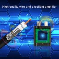 Freeshipping TV Antena Exterior Para DVB-T2 ATSC ISDB-T Indoor TV Digital Antena DVB T2 UHF Amplificador Antena HD TDT Antena 150 milhas GAMA