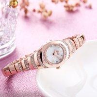 하이 엔드 새로운 국경 폭발 모델 여자 팔찌 시계 기질 패션 다이아몬드 성격 캐주얼 핫 순 레드 시계