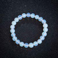 Nouveau gros cristal naturel Moonstone Bracelet perles femme femmes élégantes Bracelets Yoga Bijoux Cadeau Livraison gratuite __gVirt_NP_NN_NNPS<__ ps0874