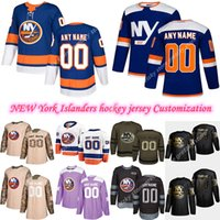 Personalização 2020 Notícias New York Islanders Hóquei Jerseys Múltiplos Estilos Mens13 Barzal 27Ele Personalize Qualquer nome qualquer número de jerseys de hóquei