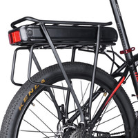 Electric Bike 48V 15Ah 17. 5Ah 36V 20Ah Rear Rack Battery Pac...