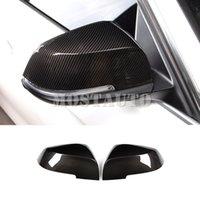 Per BMW 3 in fibra di carbonio F30 F34 Serie copertura di stile specchio retrovisore Trim 2013-2018 2pcs