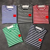 2020 nouveaux hommes T-shirts Design Noir, Blanc, Les femmes de la mode des hommes Coin Styliste T-shirts manches courtes Top couple S-XXL