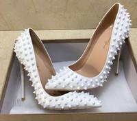جودة عالية نهاية عام 2020 حجم 35 إلى 40 أحذية القاع الأحمر الكعوب الذهب المسامير المسامير عالية جلد طبيعي الخنجر الكعوب المدببة Tradingbear