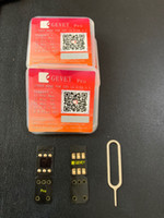 100pcs التي GEVEY برو + 1PC هدية V4 أقوى ICCID USB UPDATE TOOL دونجل فتح جميع فون ناقلات iphone5s / 6/7/8 // س / س / ص / XS / 11 / 11P / 11pro