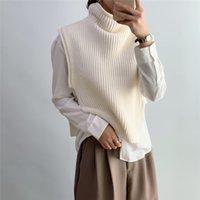 Sanfte Pullover mit Stehkragen ärmel Jumpers New Design Schicke Damen Weste Kurz Büro-Dame gestrickte Frauen Pullover Pullover