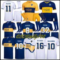 2019 20 Boca Juniors Home Uniformi di calcio DE Rossi Carlitos 20 21 Boca Juniors Soccer Jersey Shorts + Calze Boca Boca Calcio Soccer Jerseys