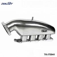 TANAKY - Motor Trocar Turbo do colector de admissão para a Mitsubishi EVO 1-3 High Performance TK-IT5941 Polido 57bT #