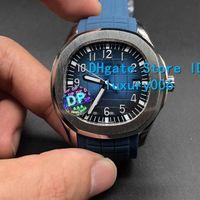 40 mm relojes DP fábrica de la calidad de Hight 5168A-008 transparente Máquina automática original hebilla para hombre relojes del reloj PP