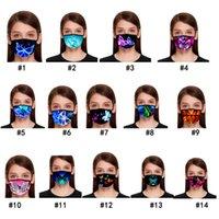 Modello di farfalla Maschera stampa 3D con le maschere maschere di cotone riutilizzabile faccia fuori Porta Sport equitazione Fashion Mask