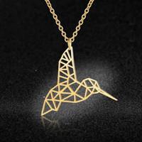 Einzigartiges Kolibri Halskette LaVixMia Italien Design 100% Edelstahl-Halskette für Frauen Super-Fashion Jewelry speziellen Geschenk