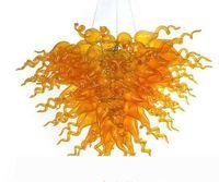 Mão venezian moderna soprada candelabros camisoleira âmbar ou vermelho candelabro conduzido CE Ul sala de estar arte decoração iluminação de vidro